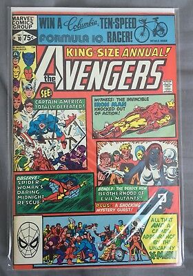 Marvel Comics AVENGERS King Size Annual #10, 1979: first appearance of ROGUE