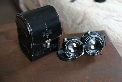Mamiya Sekor 80mm 2.8 (Blue Dot) With Case and Caps C330 C220