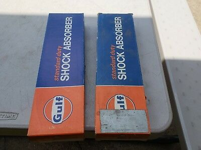 2 Vintage - Gulf shock absorbers in box