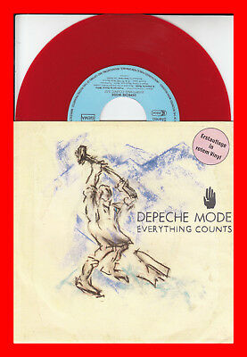 DEPECHE MODE - Everything Counts - 7'' Rotes Vinyl