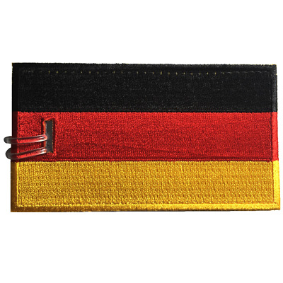 Germany Flag Embroidered Luggage Tag (NEVER BREAKS!)