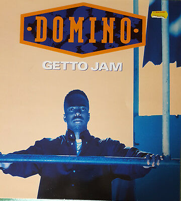 "Domino ‎– Getto Jam 12"" Vinyl"