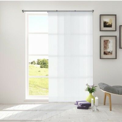 """Adjustable Sliding Panels Brings Modern Style into Any Home - 80""""W X 96""""H White"""