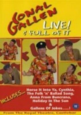 Conal Gallen Live! & Full of It DVD Live From The Royal Theatre Castlebar