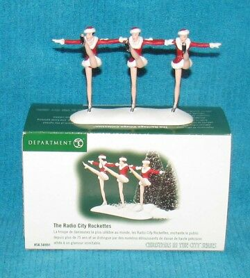 Dept 56, The Radio City Rockettes (Christmas in the City Series 56.58991) 2002