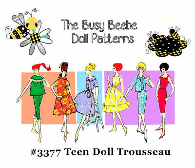 Advance Pattern Outfit #3377 For Vintage Barbie