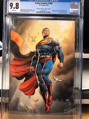 Action Comics 1000 Yesteryear Virgin Jason Fabok CGC 9.8