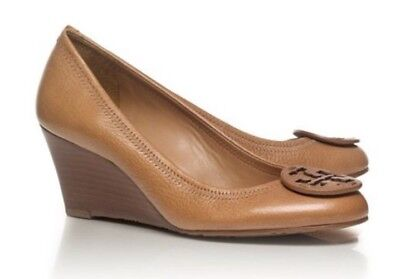 a381afc92 TORY BURCH SALLY Wedge Pumps Shoes Size 9.5 Royal Tan -  31.00 ...