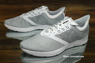 buy popular a5657 3c65a Nike Zoom Strike White Grey AJ0189-100 Running Shoes Mens - Multi Size