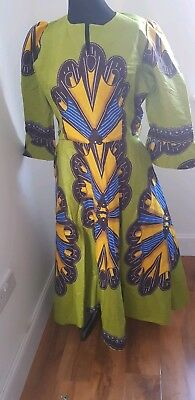 African Style Dress Size 18 . Stand out this summer.