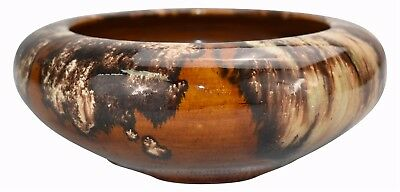 Brush McCoy Pottery Brown Onyx Bowl 01