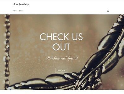 LOOK! Website Ready - Jewellery Online Store. Online Business For Sale
