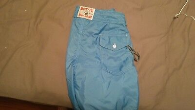 e6182c0bf0 Birdwell Beach Britches Blue Pocket Swim Suit Trunks Board Shorts Small?
