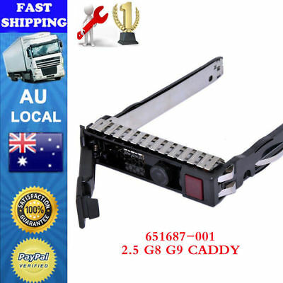 "2.5"" SAS SATA Drive Tray Caddy For HP DL380e DL360e ML370 ML350p Gen9 Gen8 G8"