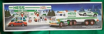 Hess Toy Truck and Racer 1991 *NEVER REMOVED FROM BOX*