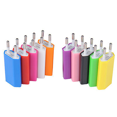 Usb Eu Wall Charger Plug 5V AC Power Adapter For Iphone 6 Xiaomi Travel Adaptor