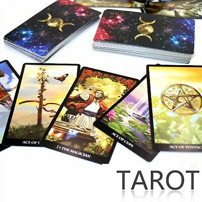 2017 New Tarot Deck Card Read The Mythic Fate Divination For Fortune Card Games