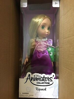 New in Box Disney Store Animators' Collection Rapunzel Doll - 16 Inch Doll