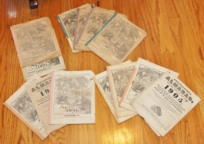 VTG Agricultural Almanac Lancaster, Pennsylvania  John Baer's Sons-Choice of Lot