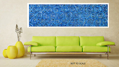 Original Art Painting print canvas posters wall decor Australia Blue Landscape