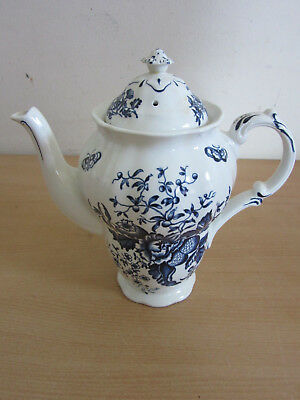 "Antique Booths, England ""Peony"" porcelain tea / coffee pot"