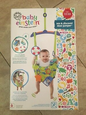 46e898737c92 BABY EINSTEIN SEA and Discover Door Jumper Green Infant To 12 Month ...