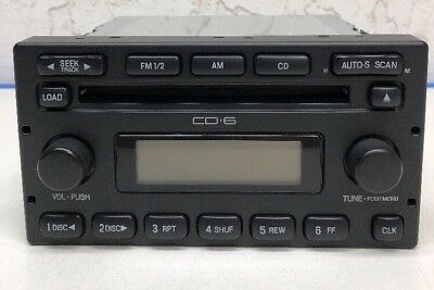 FORD Truck/Van 5L8T-18C815-ED 6CD Changer OEM Unit Ranger Explorer Expedition