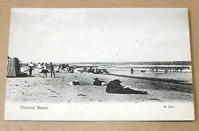 Antique Used Postcard 1913 Thirroul Beach Real Photo
