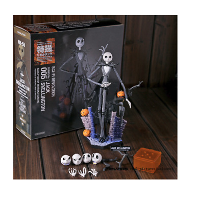 Jack Skellington Nightmare Before Christmas PVC Action Figure Model Toy Sally