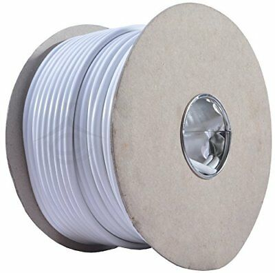 10m 3183Y 15 AMP Electrical Cable White Round Mains Wire Flex 1.5mm 240V 3 Core