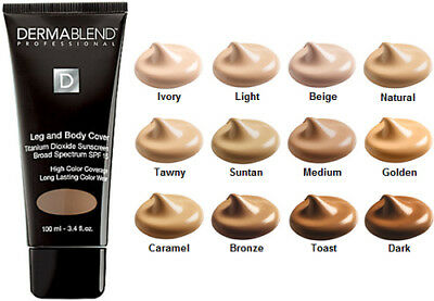 DERMABLEND PROFESSIONAL Leg and Body Foundation Cover  - SAMPLE 5 ml