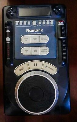 Numark Axis 9 Professioneller DJ CD-Player mit Scratchpad  / Super Zustand
