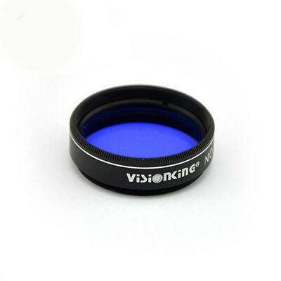 Visionking 1.25 Inch Astronomical Telescope 80A Filter Glass lens Metal frame