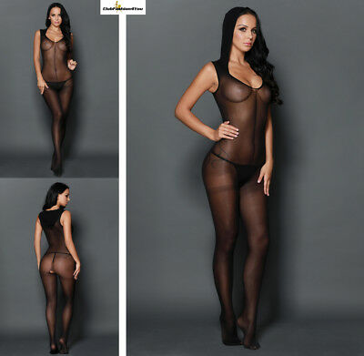 Hot Reizwäsche Fishnet Body Stocking Catsuit Netz Body Unterwäsche |H| 79881-2