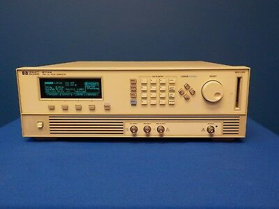 Agilent 8114A High Power Pulse Generator, 100 V / 2 A, up to 15 MHz (HI-Z/50 Ω)