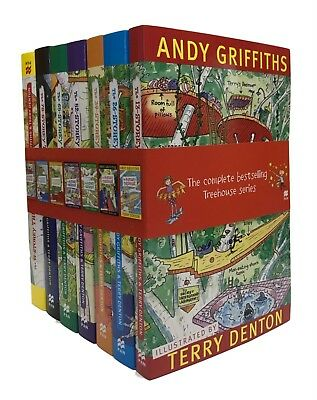 NEW Andy Griffiths Complete Treehouse Collection 7 Books Box Set Best Selling