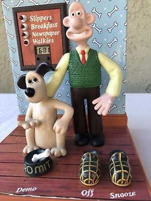 Wallace Gromit Talking Digital Alarm Clock BBC Wesco 1989  Repair Parts?  P/O