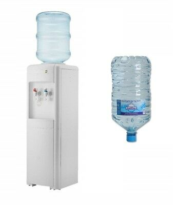 240V Cold and Ambient Water Bottle Dispenser / 15L Recyclable Water Bottle