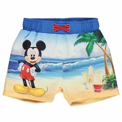 Disney Mickey Mouse Swim Board Shorts PICK YOUR SIZE New with Tag