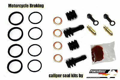 Kawasaki GPZ500 S E front brake caliper repair rebuild seal kit E3 E4 1996 1997