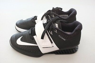 detailed look fa741 a39be Nike Womens Romaleos 3 Weightlifting Training Shoes Black Sz 4.5 (878557 -001)