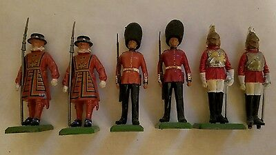 Britains Ltd Queens Silver Jubilee 1977 Ceremonial Toy Soldier Boxed Set 7225