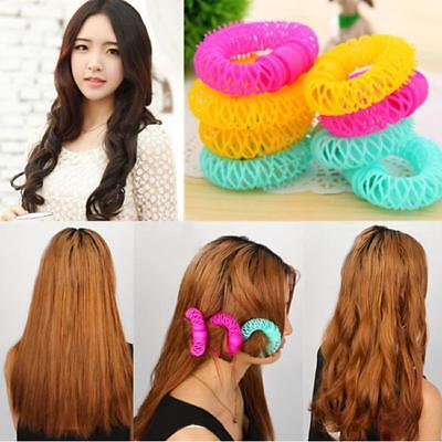 New Magic Hair Curlers Curl Formers Spiral Ringlets Rollers Hair Styling Shan