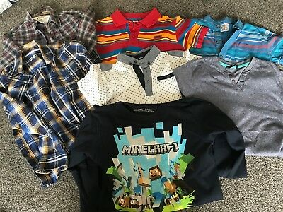 Bundle of Boys tops age 9-10 years great condition
