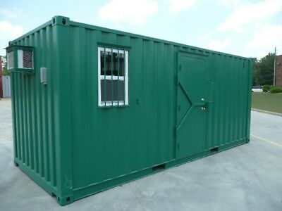 20' x 8' Ft Shipping Container Office - CUSTOM