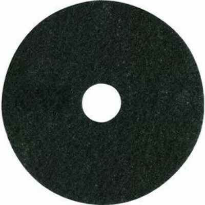 Lundmark Wax PAD-TKL17B Not Applicable Floor Pad - Thickline-17 Black