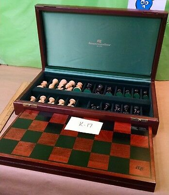 Abercrombie & Fitch chess set, all wood!