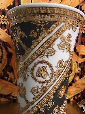 600 Versace Baroque Vase Medusa Love 11 Rosenthal New In Box Sale