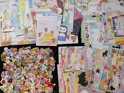 75 pc Stationery Letter Set + MEMO + STICKERS paper cute gift lk journal diary
