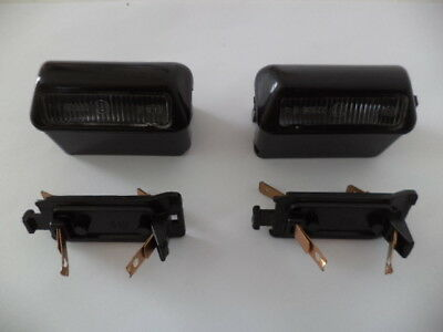 VOLVO 343 & 340 1st MODEL-1984 NOS LICENSE PLATE LAMP ASSEMBLIES(2)VOLVO 3269813
